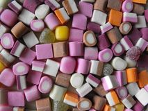 Słodki cukierku desktop wizerunek Fotografia Royalty Free