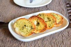 Słodki czosnku chleb Fotografia Stock