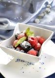 słodki deser berry fotografia stock