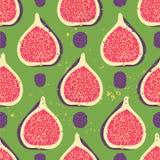 Słodki jagodowy bezszwowy wzór Obraz Royalty Free