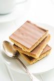 Słodki karmelu deser Zdjęcie Royalty Free