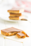 Słodki karmelu deser Fotografia Royalty Free
