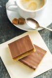 Słodki karmelu deser Zdjęcia Royalty Free