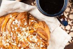 Słodki klonowego syropu chleb Zdjęcie Stock