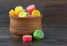 Słodki kolorowy cukierek Zdjęcia Royalty Free