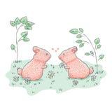 słodki królik Zdjęcia Stock