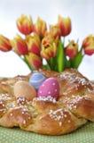 Słodki Niemiecki Wielkanocny chleb Obrazy Royalty Free