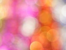 Słodki pastelowy bokeh abstrakt Zdjęcia Stock