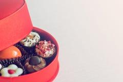 Słodki prezent z miejscem dla teksta Fotografia Stock