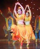 Słodki taniec India Obrazy Stock