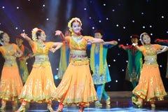 Słodki taniec India Fotografia Stock