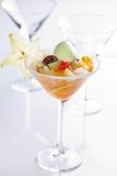Słodki tropikalny owocowy koktajl Obrazy Royalty Free