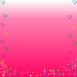 słodkich serca Obrazy Stock