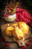 Słodkie babeczki z serem Zdjęcie Stock