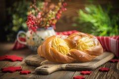 Słodkie babeczki z serem Fotografia Stock