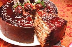 słodkie ciasto fotografia stock