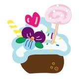 słodkie ciasto Obraz Royalty Free
