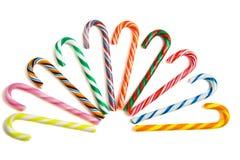 słodkie cukierek trzciny Obrazy Royalty Free
