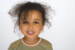 słodkie curly Zdjęcia Royalty Free