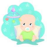 słodkie dziecko ilustracja wektor