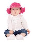 słodkie dziecko na kamery fotografia royalty free