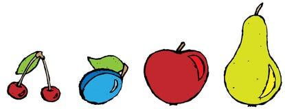 Słodkie owoc Fotografia Stock