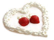 słodkie serce Fotografia Stock