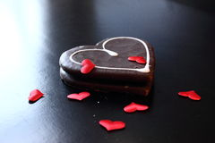 słodkie serce Obraz Royalty Free