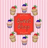 słodkie zakupy Fotografia Stock