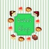 słodkie zakupy Fotografia Royalty Free