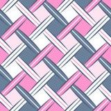 Słodkiego Rhombus Webbing bezszwowy wzór Obrazy Stock