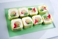 Słodkiej rolki deser Zdjęcie Royalty Free