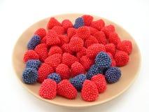 słodycze, owoce Fotografia Stock