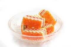 słodycze, owoce Fotografia Royalty Free