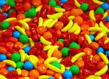 słodycze, owoce Obrazy Royalty Free