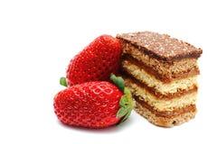 słodyczy truskawki Fotografia Stock