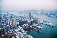 S-oeil de ` d'oiseau de Hong Kong Images libres de droits