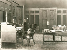 1920s office Part 2 Stock Images
