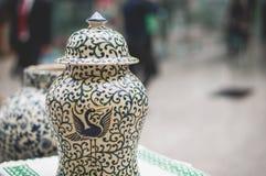 słoik ceramiczne Zdjęcie Royalty Free