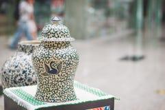 słoik ceramiczne Fotografia Royalty Free