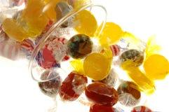 słoik cukierkami Obrazy Stock