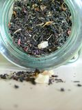 słoik herbaty. Zdjęcia Royalty Free
