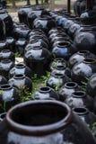 słoiki ceramicznych Zdjęcie Royalty Free