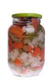 słojów pickels Fotografia Royalty Free