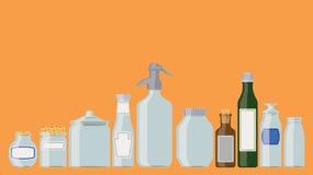Słoje i butelki Obraz Royalty Free