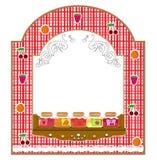 słoju owocowy wektor Fotografia Stock