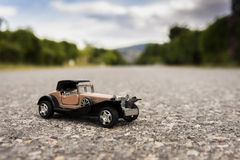 1900s Old toy car Royalty Free Stock Image