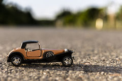 1900s Old toy car Royalty Free Stock Photos