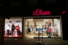 S.Oliver fashion store Stock Images