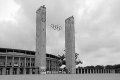 ` S Olympia Stadium de Berlín Fotografía de archivo libre de regalías